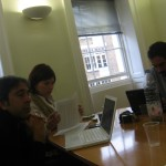 Project meeting, London, UK