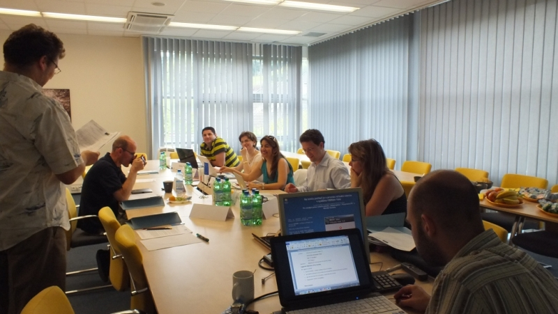 Project meeting - Prague - June 2012