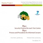D3.1 and D3.2 Security Protocol Process Procedures
