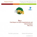 D4.3 Final Report on Socio-organizational and Ethical Impacts