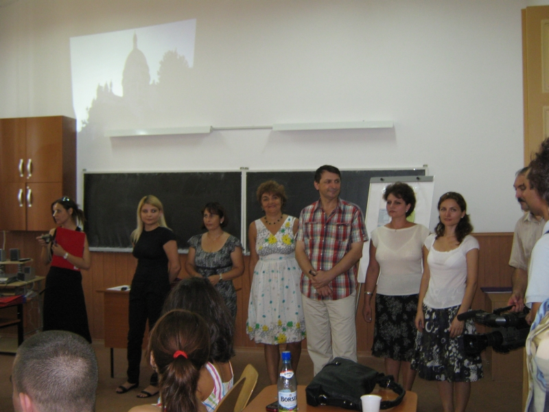 Summer school - Craiova - August 2010